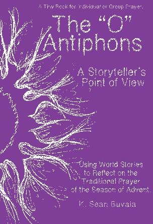 Cover for the O Antiphons book by Sean Buvala
