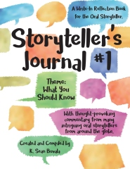 cover of our storytellers journal book