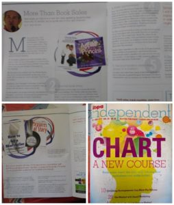 a collage of the article that sean wrote for ibpa.